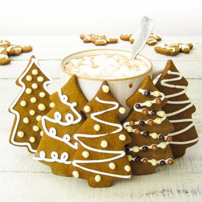 Быстрое печенье на новый год - рецепт с фото