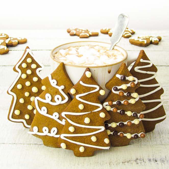 Быстрое печенье на новый год