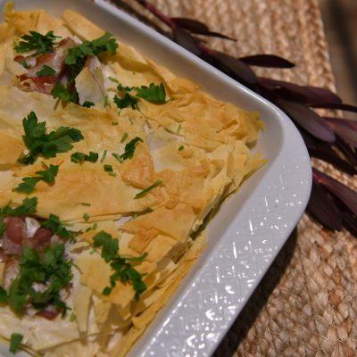 Быстрый яичный завтрак с тестом Фило (Filo) - рецепт с фото