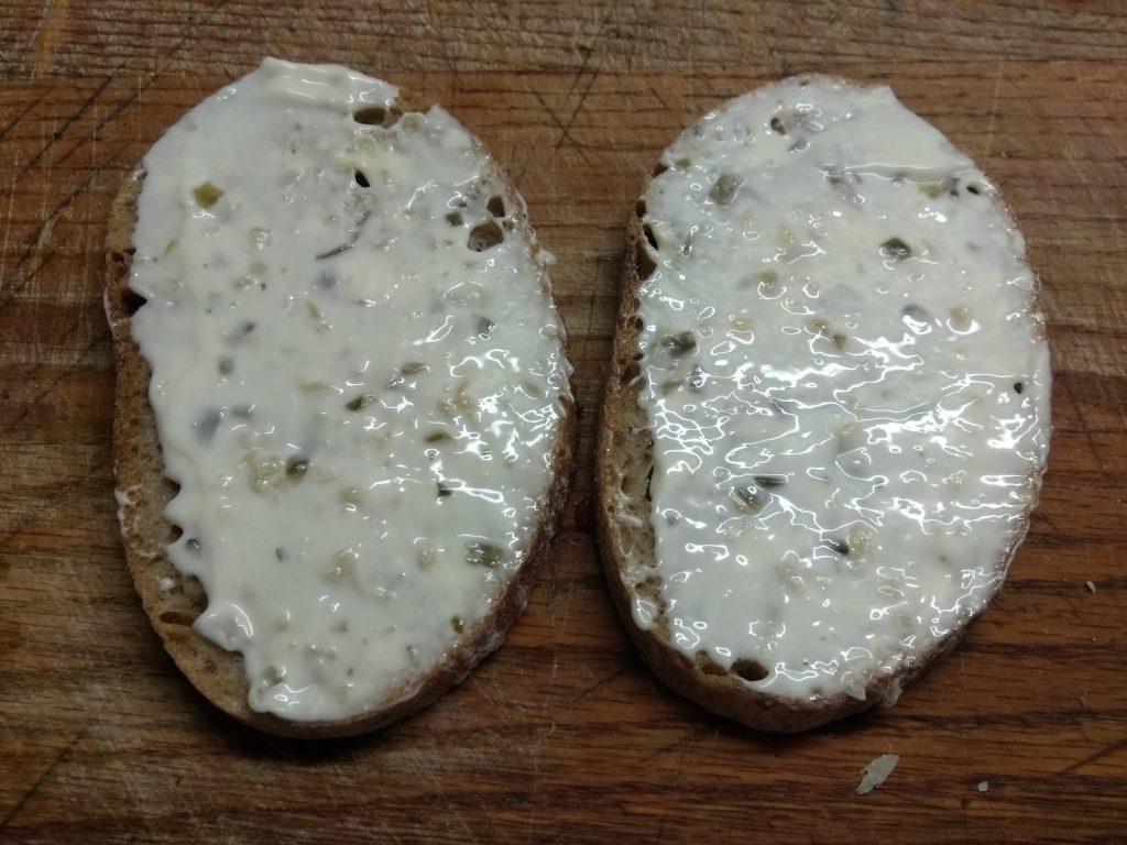Фото рецепта - Горячие бутерброды с запеченной рыбой и овощами - шаг 2