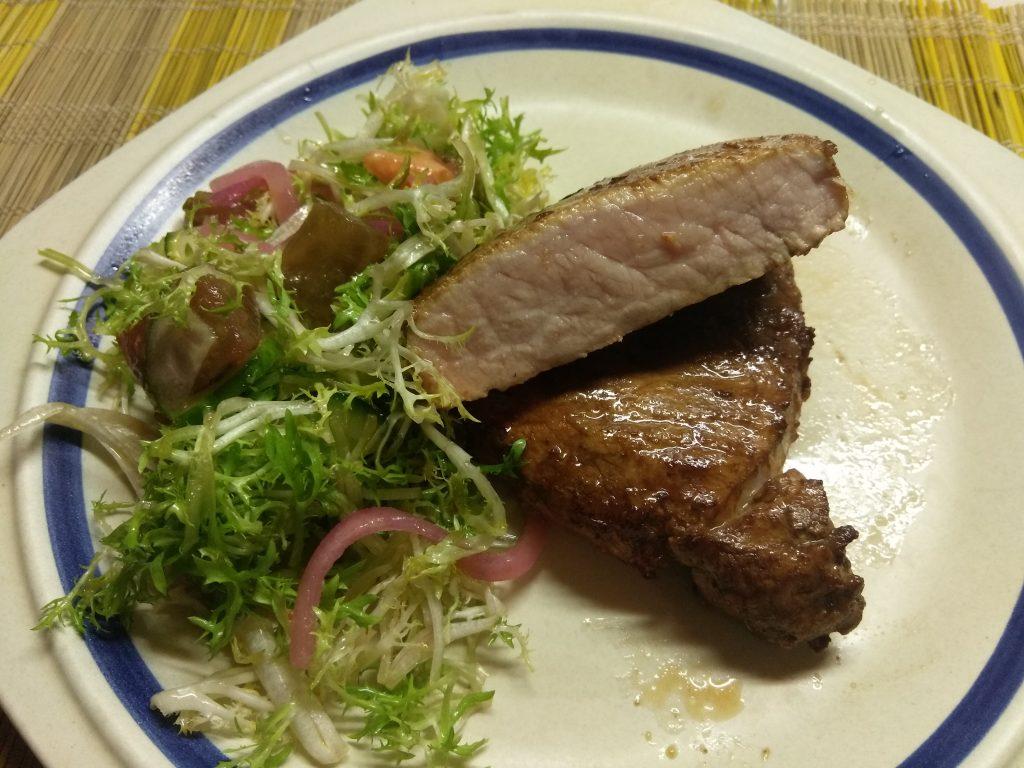 Фото рецепта - Маринованный стейк из свинины в азиатском стиле - шаг 5