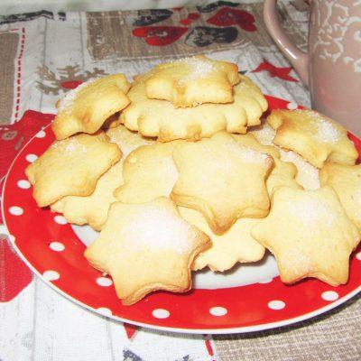 Печенье с кукурузной мукой - рецепт с фото