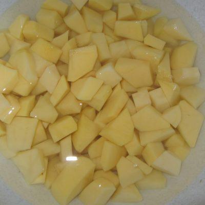 Фото рецепта - Суп с клецками из заварного теста - шаг 2