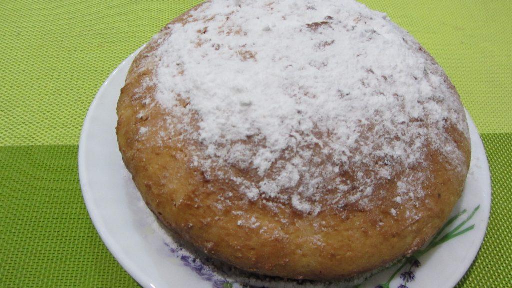 Фото рецепта - Творожно-апельсиновый пирог - шаг 6
