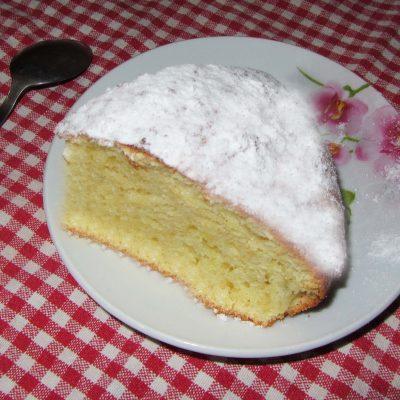 Творожно-апельсиновый пирог - рецепт с фото