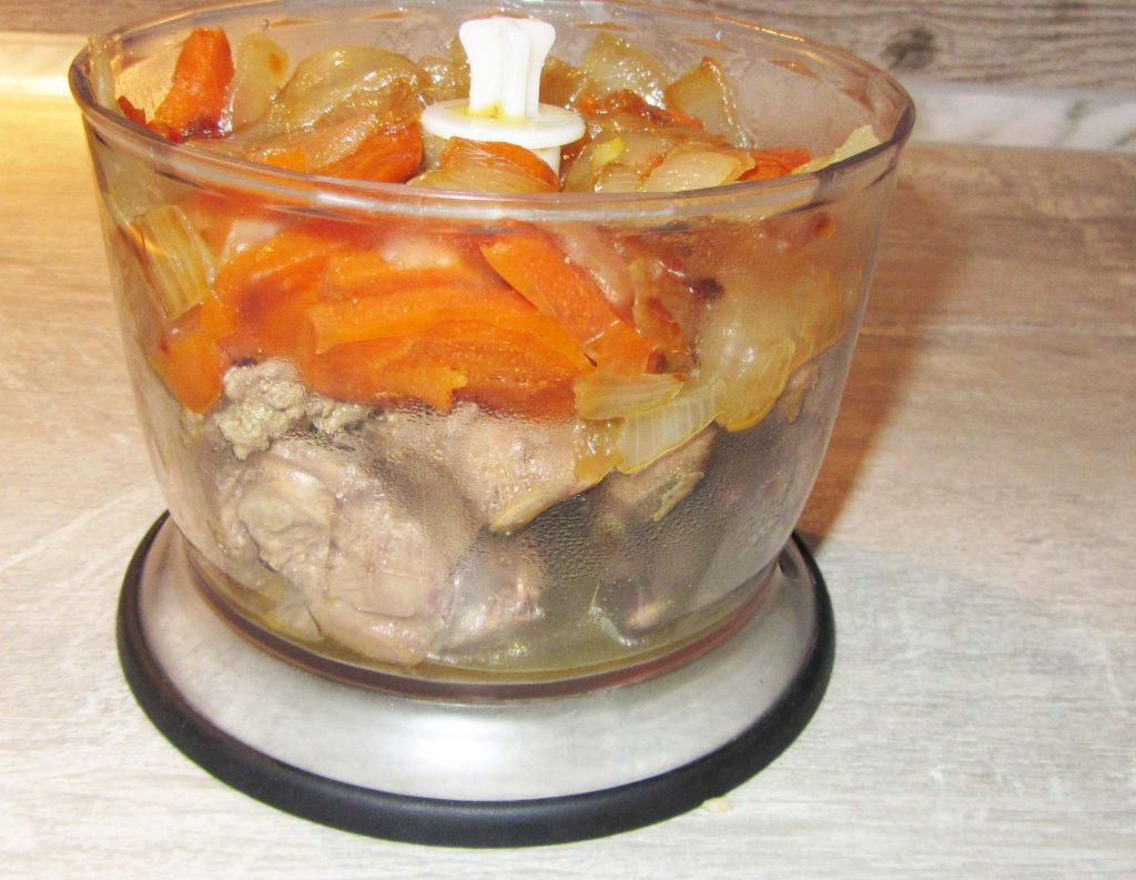 Фото рецепта - Паштет из куриной печени - шаг 5