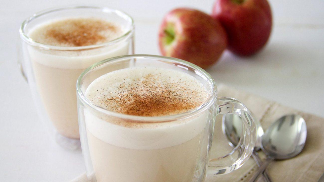 "Яблочно-молочный ""Латте"" с пряностями"