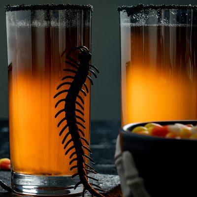 Коктейль из ананасового сока и вина - рецепт с фото