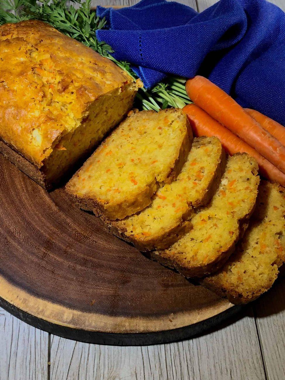 Морковно-ананасовый домашний хлеб