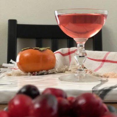Настойка на хурме и винограде - рецепт с фото