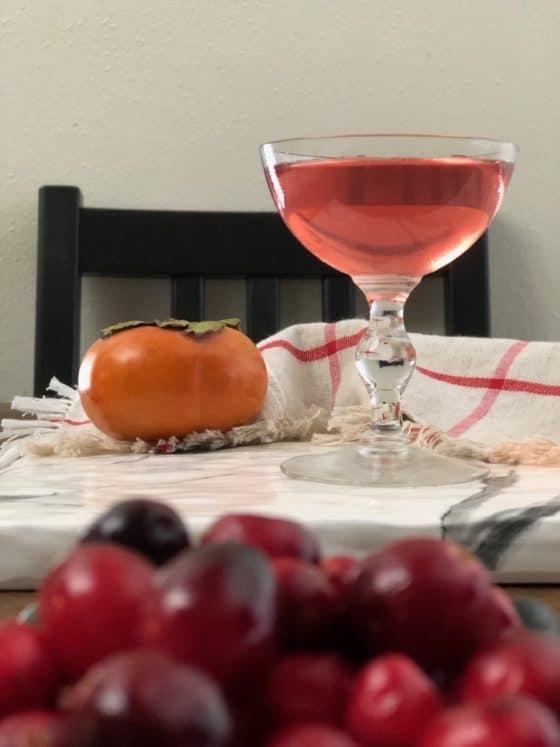 Настойка на хурме и винограде