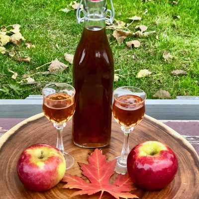 Настойка на яблоках - рецепт с фото