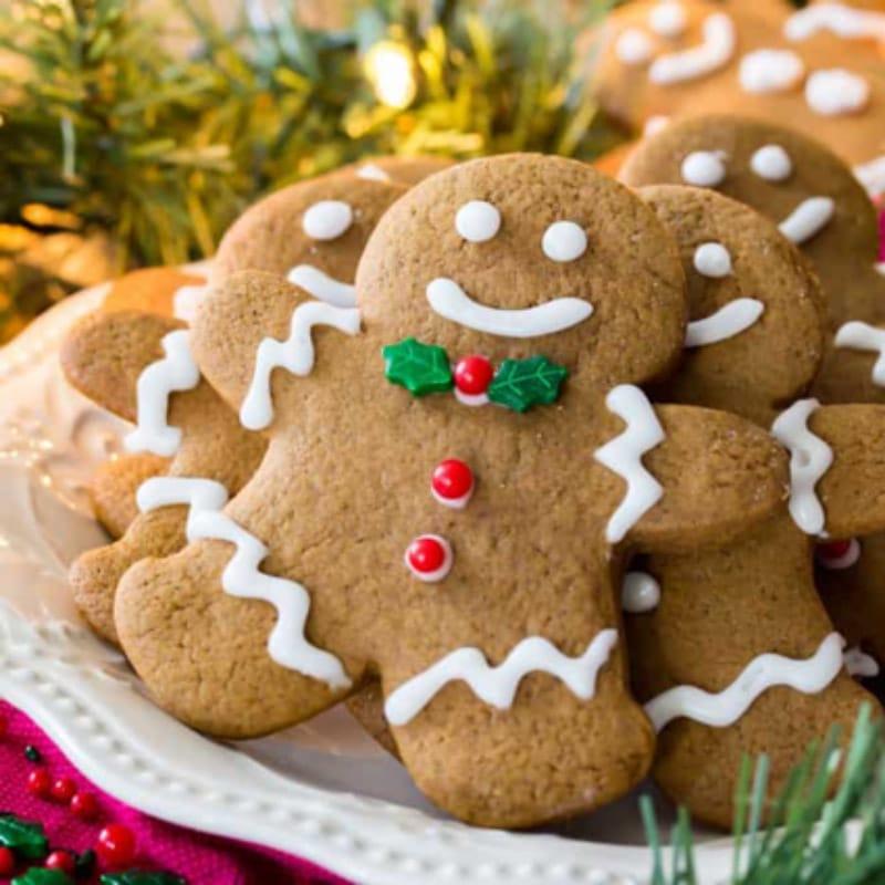 Рождественское печенье с имбирем и медом
