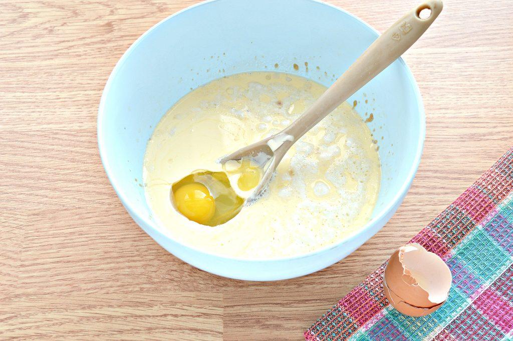 Фото рецепта - Дрожжевое тесто для курника на молоке - шаг 4
