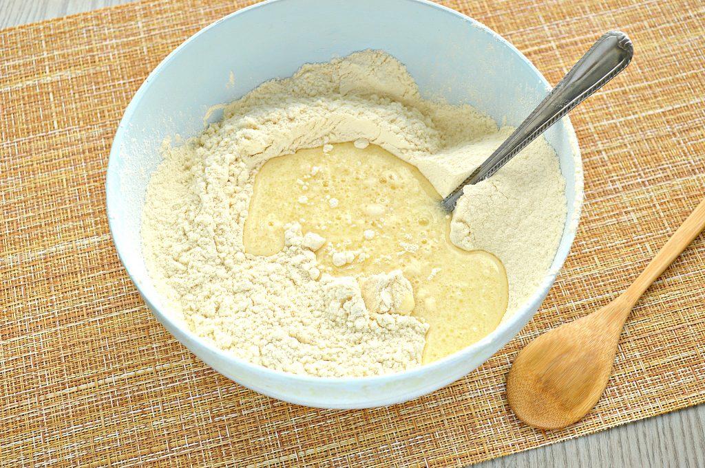 Фото рецепта - Тесто для мантов на молоке с яйцами - шаг 5