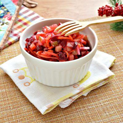 Винегрет с морковкой по-корейски - рецепт с фото