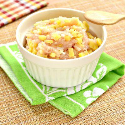 Начинка для мантов из курицы и картофеля - рецепт с фото