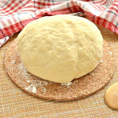 Тесто для мантов на молоке с яйцами - рецепт с фото