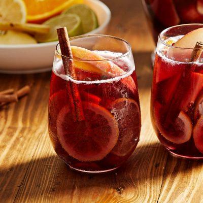 Безалкогольная сангрия - рецепт с фото