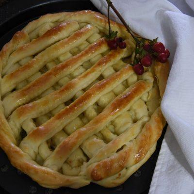 Пирог с капустой, сыром и картошкой - рецепт с фото