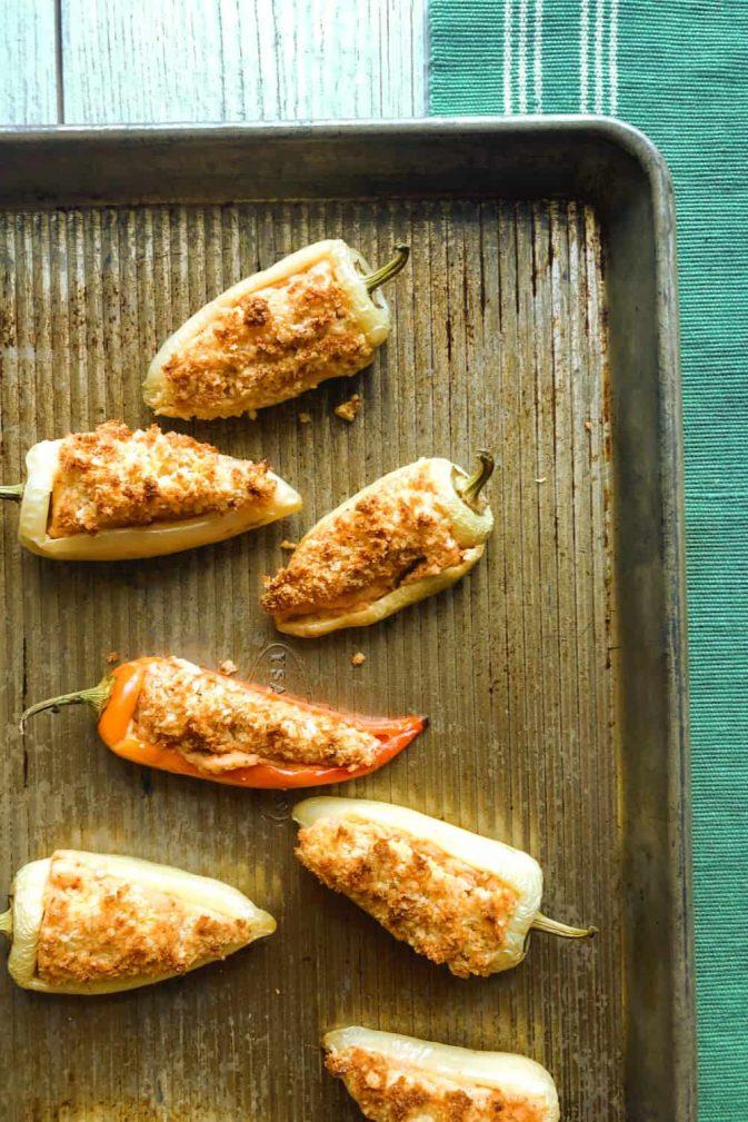 Фото рецепта - Фаршированный запеченный перец сыром - шаг 5
