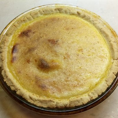 Фото рецепта - Лимонный открытый пирог - шаг 6