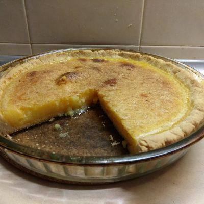 Фото рецепта - Лимонный открытый пирог - шаг 7