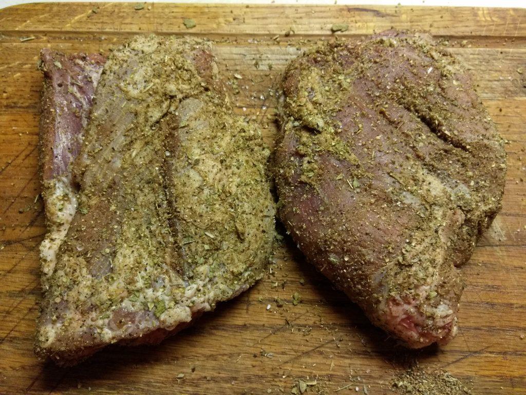 Фото рецепта - Свинина, запеченная в травах (буженина) - шаг 3