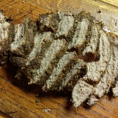 Свинина, запеченная в травах (буженина) - рецепт с фото
