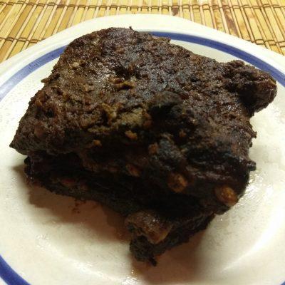 Фото рецепта - Свиные ребрышки в соево-медовом маринаде, запеченные в духовке - шаг 5