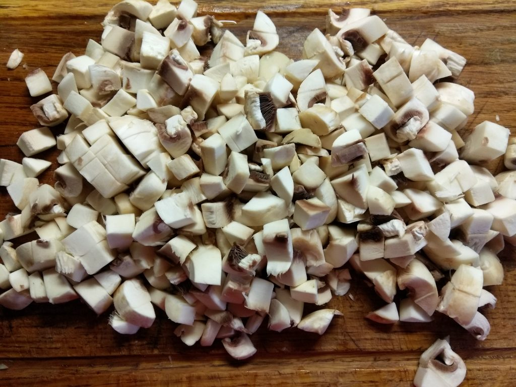 Фото рецепта - Жульен из шампиньонов и куриного филе - шаг 3