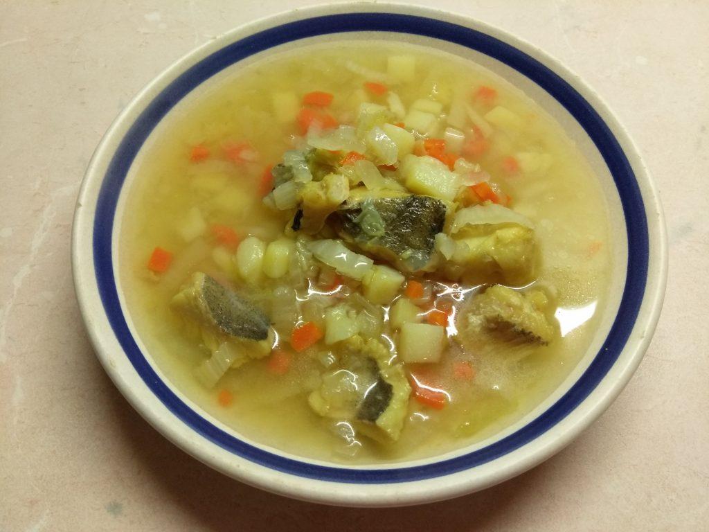Фото рецепта - Суп с пекинской капустой и хеком - шаг 5
