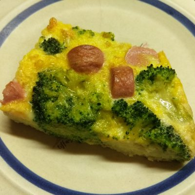 Фото рецепта - Запеканка с брокколи и сосисками - шаг 5