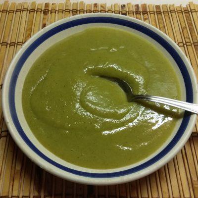 Картофельный суп-пюре из брокколи и зеленого перца - рецепт с фото