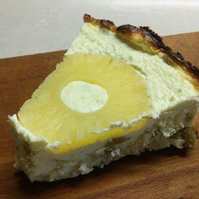 Творожник с консервированными ананасами - рецепт с фото