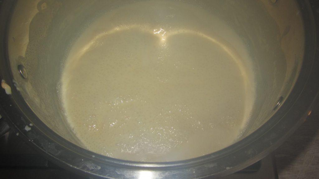 Фото рецепта - Густое сгущенное молоко из 2-х ингредиентов (минимум сахара) - шаг 2