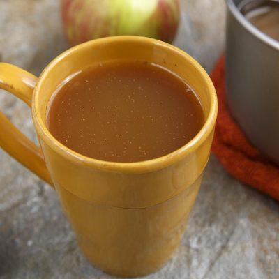 Кленовый глинтвейн на сидре - рецепт с фото