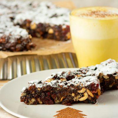 Панфорте – итальянский десерт с орехами и сухофруктами - рецепт с фото