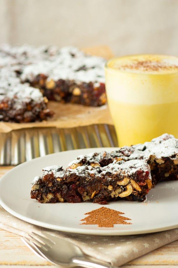 Панфорте – итальянский десерт с орехами и сухофруктами