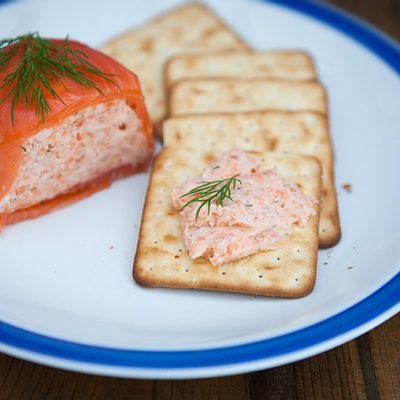 Паштет из креветок и красной рыбы - рецепт с фото