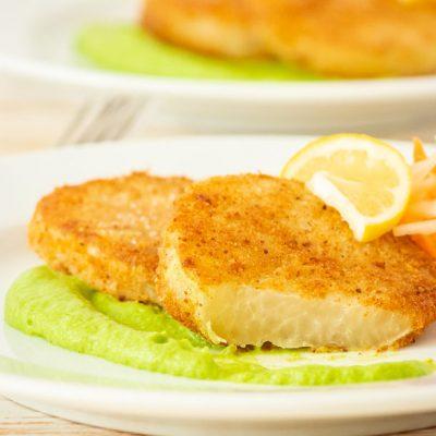 Шницель из капусты кольраби - рецепт с фото