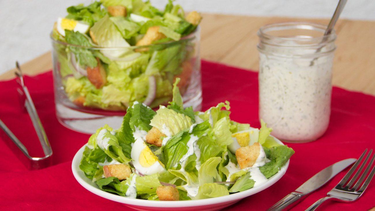 Сливочный соус для салата