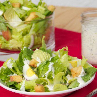 Сливочный соус для салата - рецепт с фото