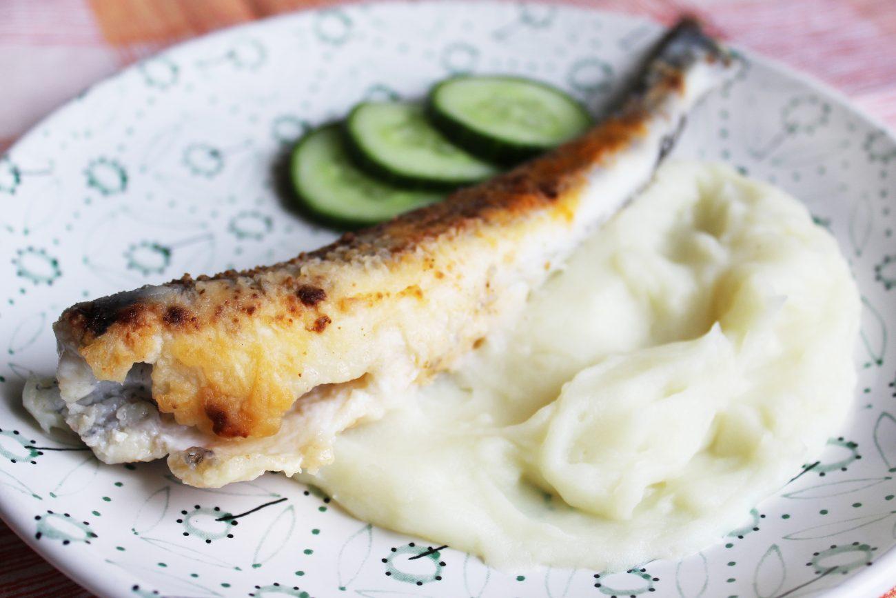 Жареная ледяная рыба