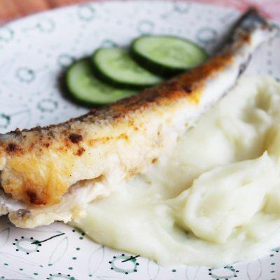 Жареная ледяная рыба - рецепт с фото