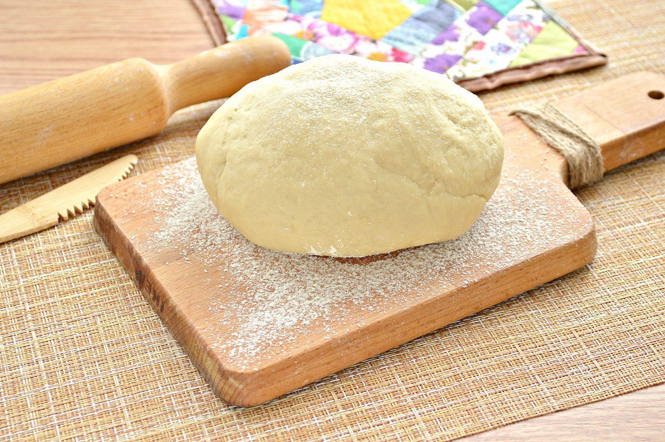 Постное заварное тесто для вареников, пельменей, мантов