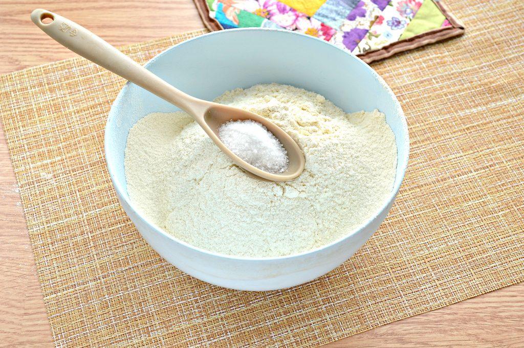 Фото рецепта - Постное заварное тесто для вареников, пельменей, мантов - шаг 2