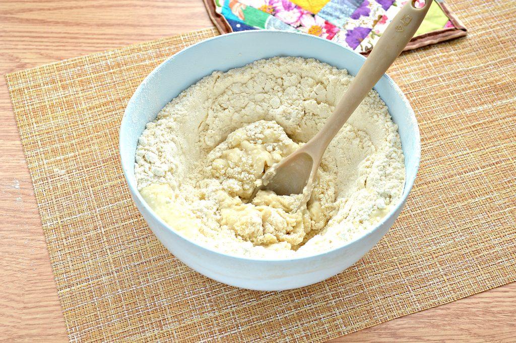 Фото рецепта - Постное заварное тесто для вареников, пельменей, мантов - шаг 6