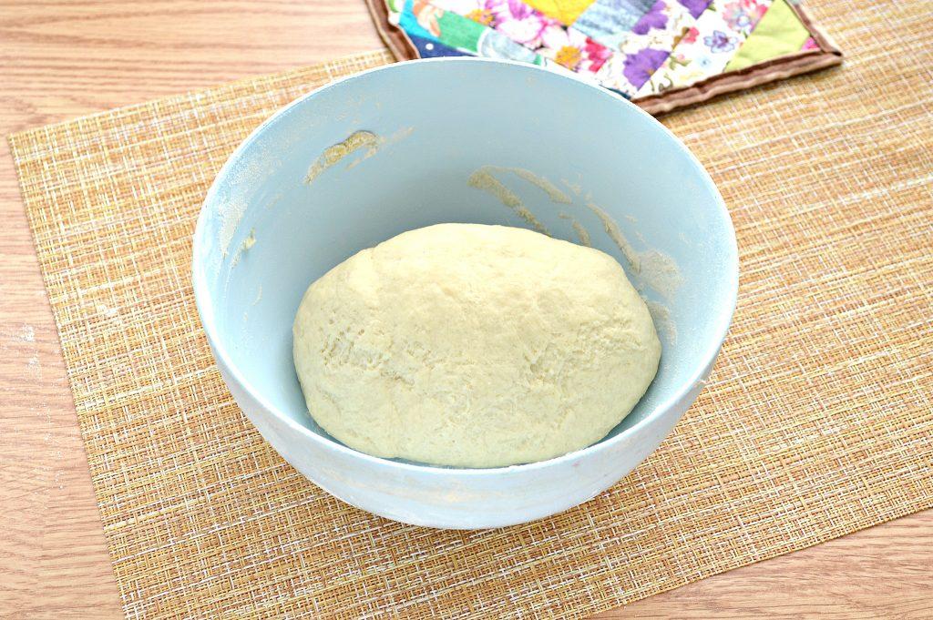 Фото рецепта - Постное заварное тесто для вареников, пельменей, мантов - шаг 7