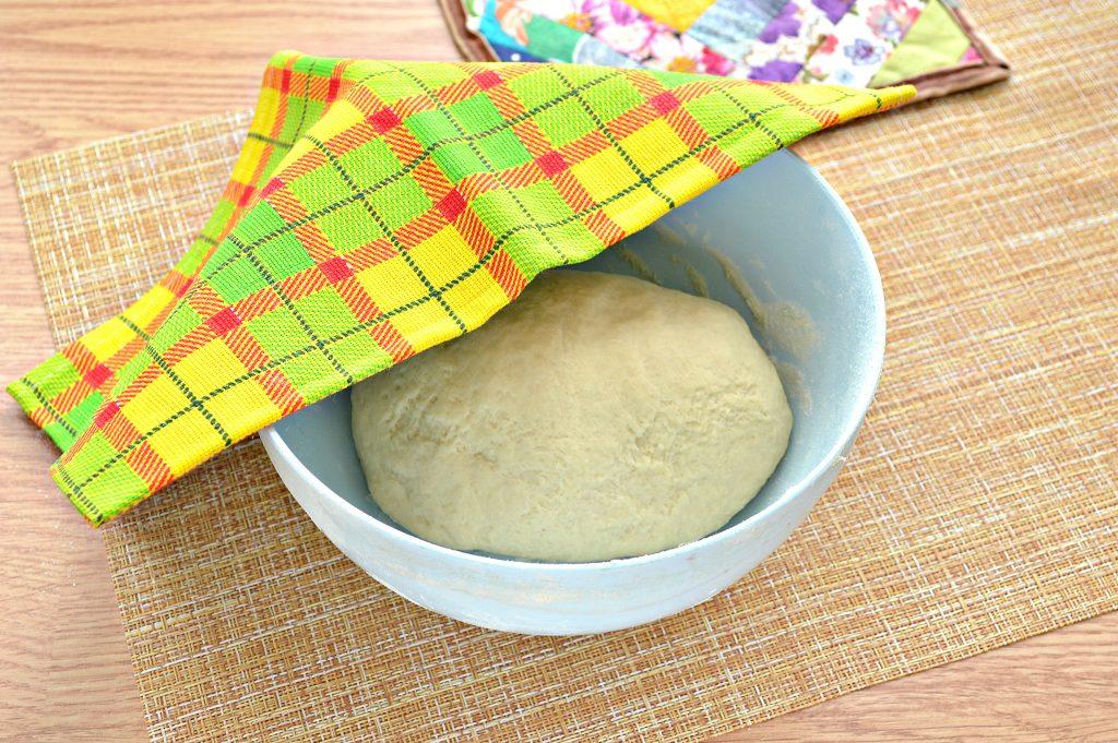 Фото рецепта - Постное заварное тесто для вареников, пельменей, мантов - шаг 8